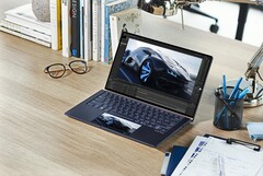 The new Asus ZenBook series features the ScreenPad 2.0 secondary display. (Image source: Asus)