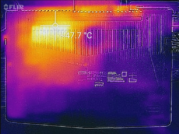 Thermal profile, underside, Witcher 3