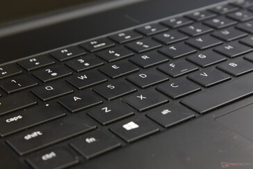 Keys are shallower and softer than we would like for a gaming laptop