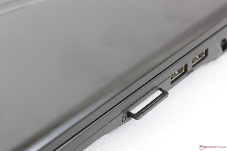 Fully inserted SD card still protrudes by about 2 to 3 mm