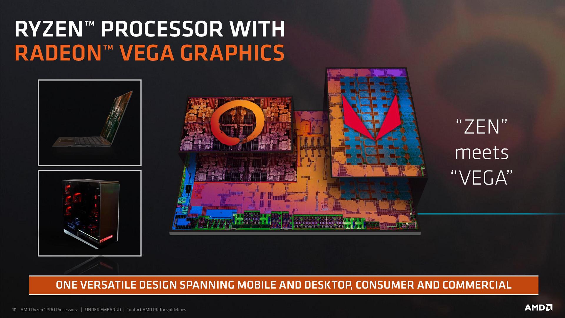 AMD announces new Ryzen Pro Mobile APUs - NotebookCheck net News