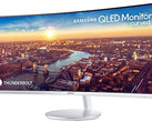 Samsung CJ791 QLED curved monitor with Thunderbolt 3 connectivity (Source: Samsung Newsroom)