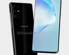 The Samsung Galaxy S11 will reportedly have a 108 MP camera. (Image via OnLeaks)