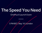 OnePlus will be live-streaming the launch event on its website. (Source: OnePlus)