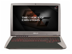 In review: Asus ROG G701VIK. Review unit provided by Asus Germany.