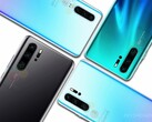 The Huawei P30 Pro features four lenses on its rear side. (Source: Andro4all/WinFuture)