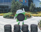 Google Android Oreo statue at Googleplex, Android apps feature DRM as of late June 2018 (Source: Louis Gray)