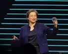 Dr. Lisa Su unveils the 64-core AMD Threadripper 3990X at CES 2020.