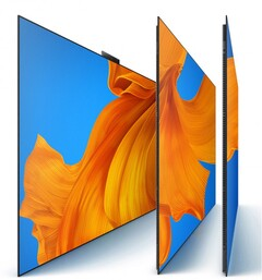 The Vision X65 is Huawei's first OLED TV. (Image source: Huawei via JD.com & GSMArena)