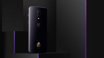 OnePlus 6 Marvel Avengers Limited Edition smartphone. (Source: OnePlus)