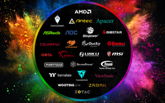 Razer Chroma RGB lighting software will now encompass 25 additional brands (Source: Razer)
