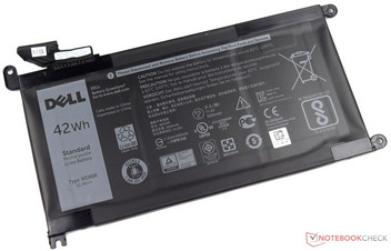 42-Wh lithium-ion battery