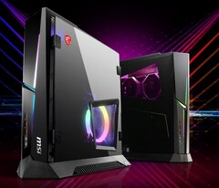 The new MEG Trident X 10th are only slightly larger than a console. (Image Source: MSI)