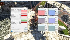 CPU and GPU during a UNIGINE Heaven 4.0 benchmark