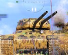 World of Tanks 1.7.1 - first battle in the dual-barreled IS-2-II heavy tank (Source: Own)