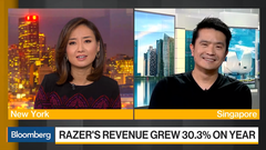 Razer CEO appears in Bloomberg interview, posts $48 million in losses, $357 million in revenue, and 30.3 percent growth YoY (Source: Razer)
