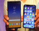 New Samsung Galaxy Note 9 or old iPhone X? Hm... (Source: CNET)