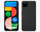 The Pixel 4a (5G) as shown by John Lewis. (Image source: John Lewis)