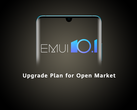 Huawei has completed all but one of its EMUI 10.1 upgrade plans. (Image source: Huawei)