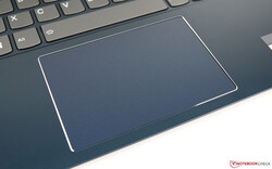 A look at the trackpad on the IdeaPad S540