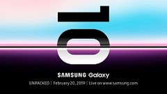 Samsung may have confirmed the Galaxy S10 line's launch date. (Source: Samsung)