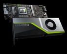 Compared to the RTX 2080 Ti, the Quadro RTX 6000 comes with a slightly more powerful TU102 core and 24 GB GDDR6 VRAM. (Source: Nvidia)
