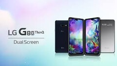 The LG G8X ThinQ and its Dual Screen is coming to America. (Source: LG)
