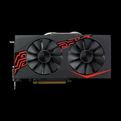 The Asus Mining RX 470 is a card designed for the mining of cryptocurrencies. (Source: Asus)