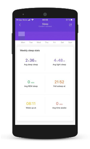 Xiaomi has enabled REM sleep tracking for the Mi Band 5. (Image source: Gadgets & Wearables)