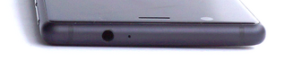 Upper edge: Microphone, 3.5-mm audio jack