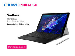Chuwi SurBook 2-in-1 now on Indiegogo for $299 USD