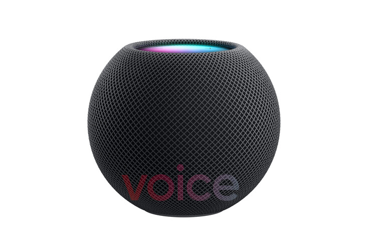 The HomePod Mini's other rumored colorway... (Source: Voice)