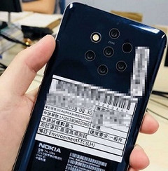It has been rumored that a Nokia 9 device would feature five rear-facing cameras. (Source: ithome.com)
