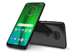 The flagship of the new Motorola G-series range is the Moto G7 Plus. (Source: Motorola)