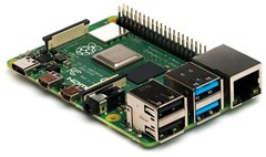 Raspberry Pi: Turn the popular single-board computer into a cheap and simple surveillance camera system. (Image source: Raspberry Pi Foundation)