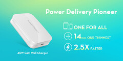The RAVPower 14mm PD wall charger. (Source: RAVPower)