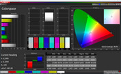 CalMAN color space Standard (DCI-P3)