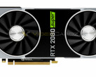 A mock-up of how the GeForce RTX 2080 Super Founders Edition could look like. (Image source: Videocardz)