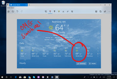 Screen Sketch tool in Windows 10 build 17661 (Source: Windows Experience Blog)