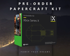 The Papercraft pre-order kit will only be available in Germany. (Image source: Microsoft)