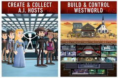 Westworld for Android launches officially June 2018, similar to Fallout Shelter (Source: Google Play)