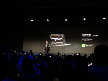 Nvidia announces Studio laptops.