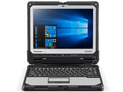 The Panasonic Toughbook CF-33, provided by Panasonic Germany