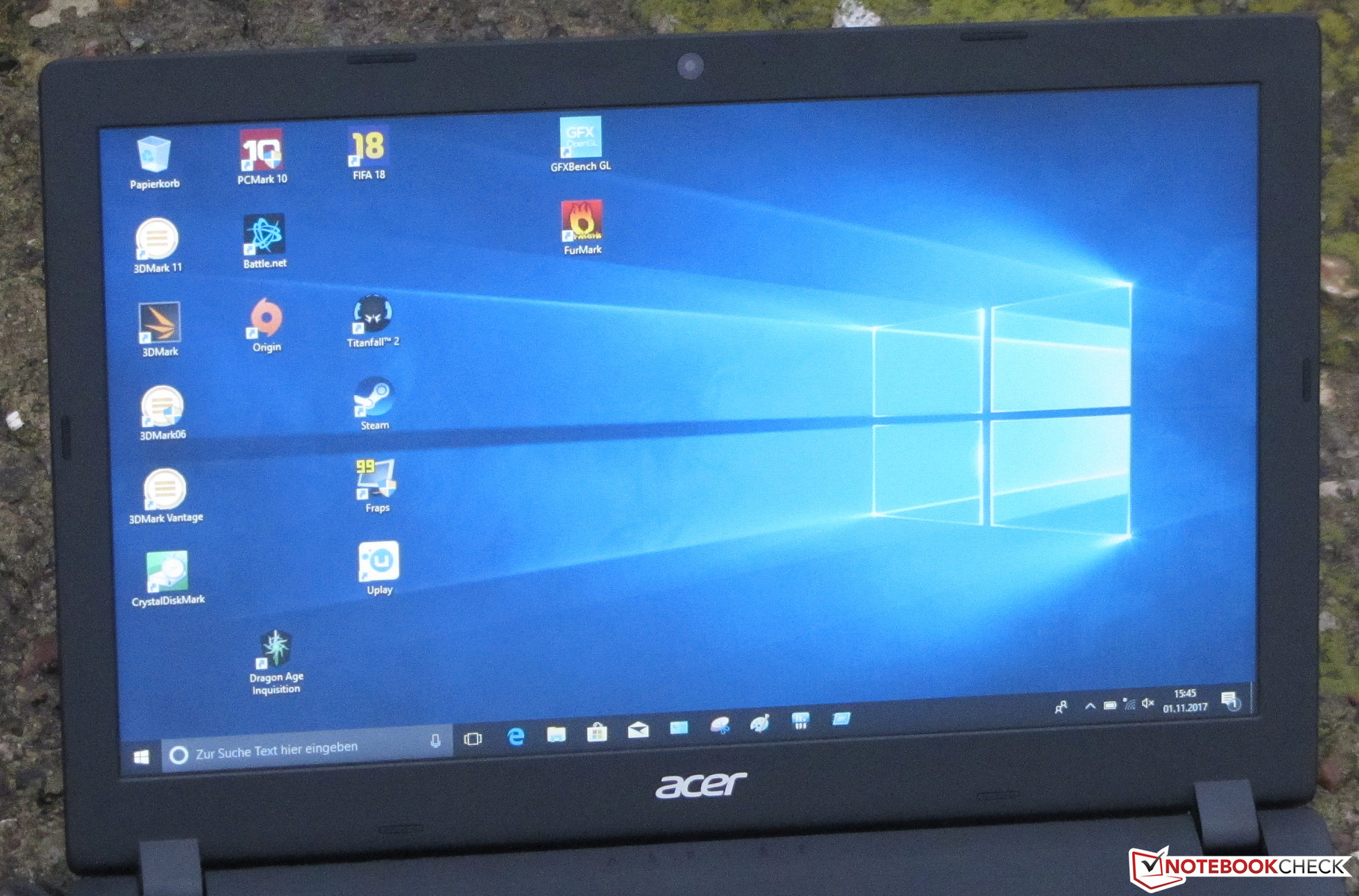 Acer Aspire 3 A315-21 (A6-9220, Radeon R4) Laptop Review
