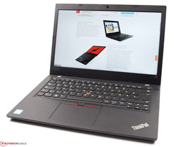 Lenovo ThinkPad L480 test model provided by CampusPoint