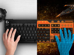 HTC and Logitech have teamed to bridge keyboards with VR. (Source: HTC)