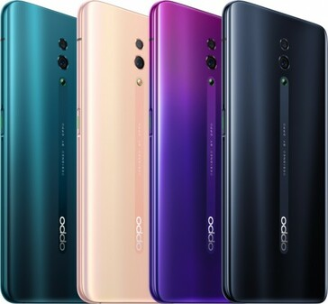 OPPO Reno color variants. (Source: GSMArena)