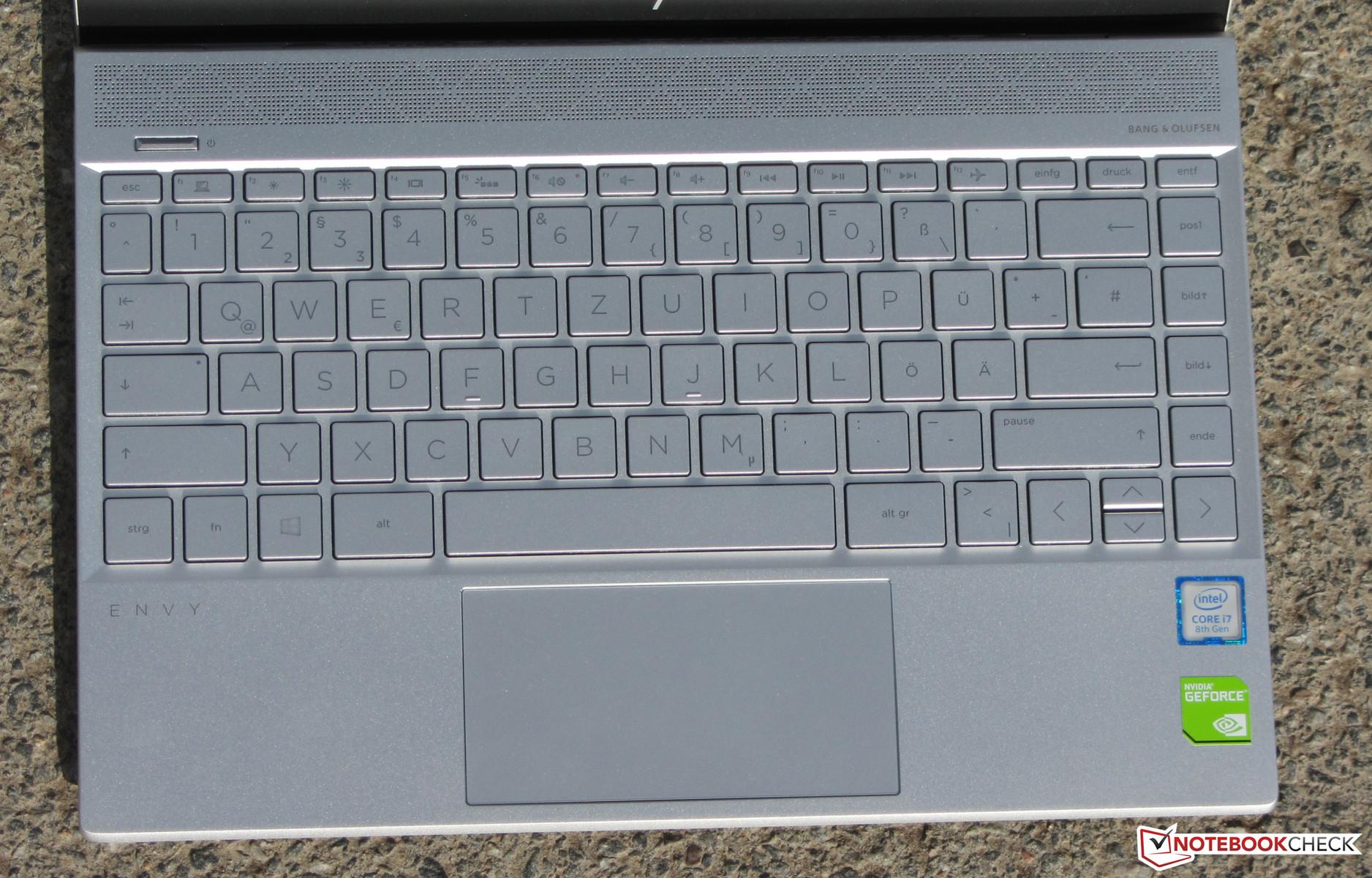 HP Envy 13t (i7-8550U, MX150, SSD, FHD) Laptop Review