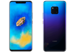 The Mate 20 Pro will feature the notorious notch and will get a tri-cam setup on the back. (Source: WinFuture)