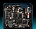 The Redmi K30 Pro features a stacked motherboard. (Image source: Redmi via @xiaomishka)